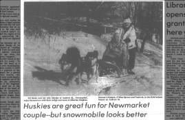Huskies are great fun for Newmarket