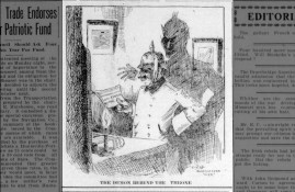 The demon behind the throne - May 11 1916