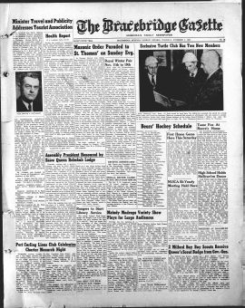 THE_BRACEBRIDGE_GAZETTE/1955/1955Nov03001.PDF