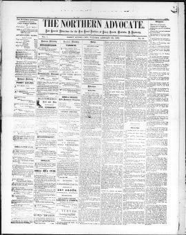 THE_NORTHERN_ADVOCATE/1870/1870Jan25001.PDF
